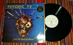 PSYCHIC TV - Force the Hand of Chance 2xLP