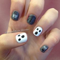 halloween  by lovemynails_kristin  #nail #nails #nailart