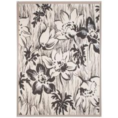 Natural Curiosities Pirooni Collection: Black & White Flowers