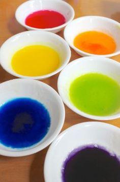 Pintura de gelatina: juego sensorial | Blog de BabyCenter @carollinas