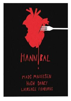Hannibal poster art, nice and simple