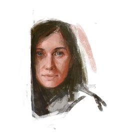 Portrait of Natasha Homutova