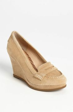 Sperry Top-Sider® 'Windstar' Wedge Loafer Pump available at #Nordstrom item # 563287 in Tan Suede