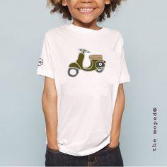Camiseta Niño VESPA MILITAR MOD