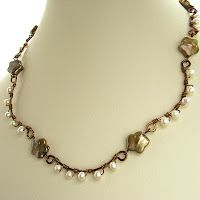 Tute on how to make and put together these links.  very easy. #wire #jewellry #tutorial