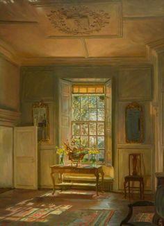 Sunlight in the South Room, Kellie Castle, 1913 by John Henry Lorimer
