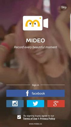 Mideo is a short video entertainment community that allows you to create & explore short video stories and slideshows.