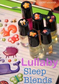 Lullaby Blends!  For Kids & Adults  EO help for the sleepless & sleep deprived!
