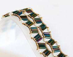 Bugle Bead Bracelet  Seed Bead Bracelet  by KKbraceletsandmore