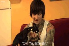 parker is so cute I Miss You More, Mitch Lucker, November 1st, Of Mice And Men, Bands, Metal, Music, Funny, Quotes