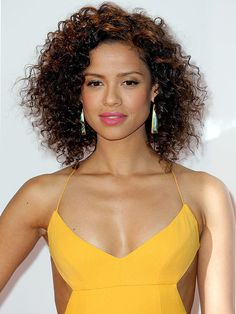 "How Gugu Mbatha-Raw got her ""fresh, spring-y"" makeup  for the NAACP Image Awards"