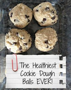 The Healthiest Cookie Dough EVER!