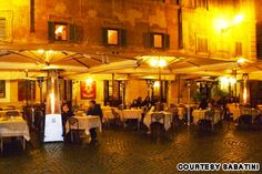 The 15 best coffee bars in Rome (pictured: Sabatini Cafe) Paris In October, Rome Pictures, Italy Street, Cool Cafe, Rome Italy, Best Coffee, City Lights, Great Places, The Good Place