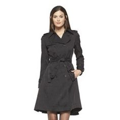 Altuzarra for Target Trench Coat with Back Detail- Black M