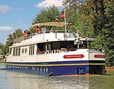 Introducing Hotel Barge 'Spirit of Scotland'