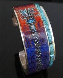 Yei cuff, INSANE Inlay work, WOW.