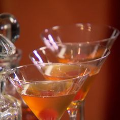 the chew | Recipe  | Clinton Kelly's Perfect Manhattan