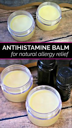 Are you looking for natural allergy relief remedies that work? Learn how to make our natural DIY antihistamine balm featuring essential oils quick allergy relief. allergies How to Make an Antihistamine Balm for Natural Allergy Relief Natural Health Remedies, Herbal Remedies, Natural Remedies For Allergies, Homeopathic Remedies For Allergies, Holistic Remedies, Cold Remedies, Natural Cures, Natural Medicine, Herbal Medicine