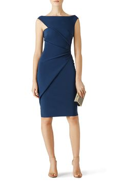 Rent Blue Silvietta Dress by La Petite Robe di Chiara Boni for $125 - $140 only at Rent the Runway.