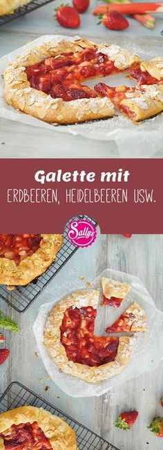 A galette is a type of fruity pizza made from a dough that resembles short crust pastry or pie dough. A galette is a type of fruity pizza made from a dough that resembles short crust pastry or pie dough. Sully Cake, Bread Shaping, Shortcrust Pastry, Sweet Bakery, Eat Smart, Yummy Cakes, I Foods, Baking Recipes, Cupcake Cakes