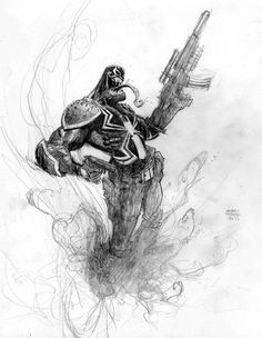 Venom by Andrew-Robinson.deviantart.com on @deviantART