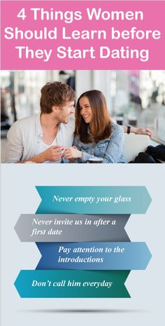 dating girls learn before boyfriend