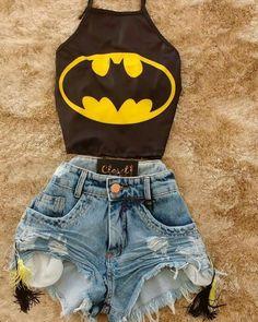 Prepara-te, hoje vou ser a tua BatWomen!❤