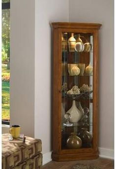 Storage Cabinets Ideas Corner Curio Cabinet Lighted A Modern for dimensions 900 X 900 Dining Room Corner Curio Cabinets - How do you know if installing Buy Bedroom Furniture, Home Furniture, Corner Furniture, Furniture Stores, Crockery Cabinet, Curio Cabinets, Crockery Units, Corner Cabinets, Kitchen Cabinets