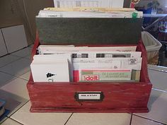 The Messy Roost: Mail Organization