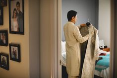 Reshma + Aniket: A Chic Indian Wedding in Sydney and Melbourne - wedding day photography - groom getting ready Wedding Groom, Wedding Day, Groom Getting Ready, Melbourne Wedding, Indian Groom, Sydney, Classy, Romantic, Style Inspiration