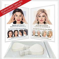 V Shape Face, Face Shapes, Face Lift Tape, Neck Lift, Light Hair, Dark Hair, Blonde Hair, Les Rides, Beauty