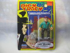 Dick Tracy Coppers and Gangsters The Tramp Action Figure #DickTracy