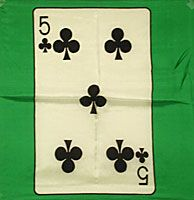 5 ♣ - Five of Clubs