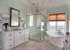 Clean and open bathroom! Erin Parker