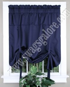 Metro curtains are a tone on tone small scaled striped woven fabric that adds a stylish touch to your decor. #Tie-up  #Shades