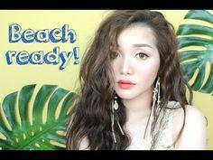 (ENG) Trang Điểm Đi Biển - Beach-Ready Makeup | Tina'sBeautyTips