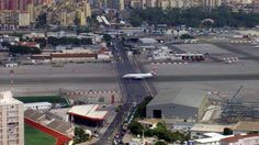 Gibraltar International Airport. Wow.