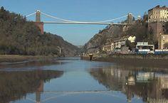 Bristol, UK. This is the Clifton Suspension Bridge.