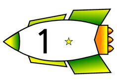 The numerals presented on rockets. These are great for use in classroom displays and number lines, or can be laminated for ordering activities. Sistema Solar, Earth From Space, Space Theme, Classroom Displays, Busy Book, Number Lines, Numbers, Preschool, Rockets