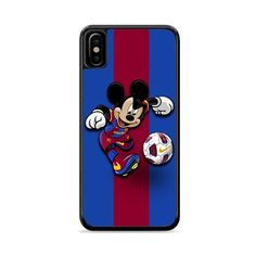 Mickey Barcelona Fc iPhone XS Case   Miloscase Fc Barcelona, Iphone 11, Prints