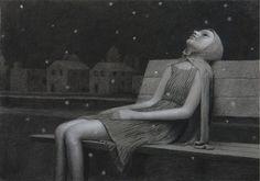 Aron Wiesenfeld - Drawing