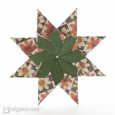 Star Flower Origami Diagram Pig External Anatomy 25 Best Instructions Images Flowers For An 8 Pointed Modular Corona Grande By Maria Sinayskaya