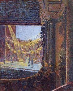 Theatre Paintings - Francis Hamel / Noel Coward Theater, Avenue Q