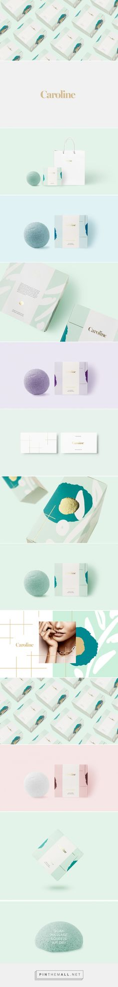 Caroline Skincare Branding and Packaging by Alaa Amra | Fivestar Branding Agency – Design and Branding Agency & Curated Inspiration Gallery