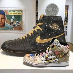 """The most expensive wearable Air Jordans with 15,000 swarovski crystals! You can also see more """"Colorways"""" by following the link in our Bio.  : by @thedanlife ✒ #99kicksde for shoutout  Facebook/Twitter/Pinterest: 99kicksde  99kicks.com  #nike #airjordan #airjordan1 #jordan #follow4follow #TagsForLikes #photooftheday #fashion #style #stylish #ootd #outfitoftheday #lookoftheday #fashiongram #shoes #kicks #sneakerheads #solecollector #soleonfire #nicekicks"""