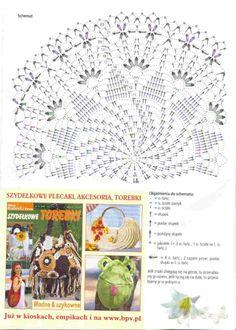 Gallery.ru / Фото #1 - Diana Robotki_2008.04 - igoda Free Crochet Doily Patterns, Crochet Doily Diagram, Crochet Circles, Crochet Chart, Thread Crochet, Filet Crochet, Crochet Motif, Crochet Doilies, Stitch Patterns