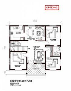 New Home Construction Floor Plans Exterior Build House, santosh plan Free House Plans, Simple House Plans, House Layout Plans, Best House Plans, House Floor Plans, House Layouts, The Plan, How To Plan, Bungalow Haus Design