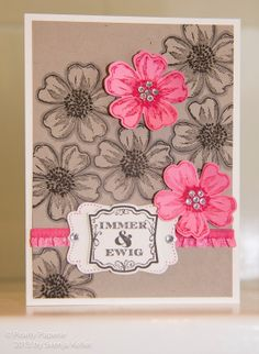 Stampin' Up!, www.pearly-paperie.de, Flower Shop, Stiefmütterchen, Pansy Punch, In Colors 2013