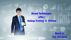 Many companies have planned to hire competent hadoop skilled talent than ever before. Besant Technologies offers real time hadoop training in Chennai