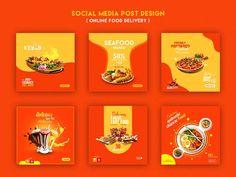 Food Graphic Design, Food Menu Design, Food Poster Design, Flyer Design, Social Media Poster, Social Media Banner, Food Banner, Instagram Design, Food Instagram